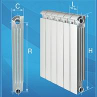 Расчет количества секций биметаллического радиатора отопления