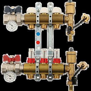 Коллектор системы водоснабжения